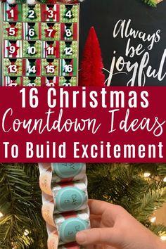 Christmas Planning, Days Until Christmas, Cool Christmas Trees, Magical Christmas, Christmas Books, Little Christmas, Christmas Crafts, Christmas Countdown Crafts, Christmas Tree Advent Calendar