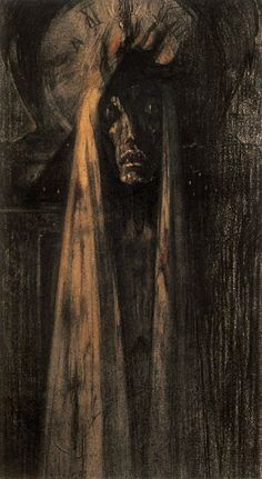 Death by Jean Delville on Curiator, the world's biggest collaborative art collection. Scream, Jean Delville, Ideal Beauty, Digital Museum, Before I Sleep, Angels And Demons, Religious Art, Skull Art, Ancient Art