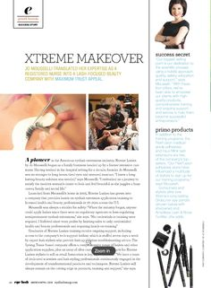 Did you see our feature in the March 2016 issue of Eyelash Magazine? Check it out now!   #xtremelashes