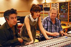 Brian Wilson's Girl-Powered LP: In the Studio With the Beach Boy // Rolling Stone / Zoe Deschanel