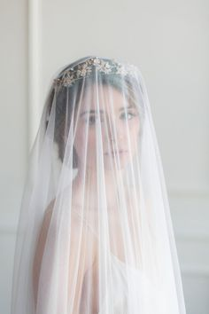 All About Romance | Veils & Bridal Adornments for the fine art bride | Fine Art Curation | Wedding Sparrow