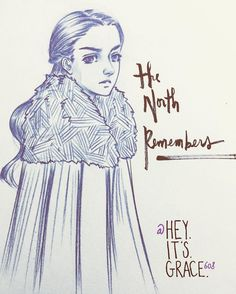 Today's #doodle is brought to you by my #fave #GoT character ever…