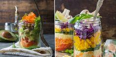 4 sałatki w słoiku: proste i zdrowe