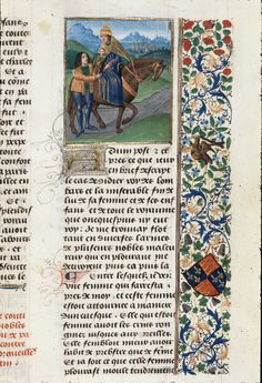 Pope Joan f468-Detail of a miniature of pope Joan, at the beginning of chapter 6 of book 9.  Origin:Netherlands, S. (Bruges)