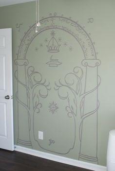 LOTR wall art!!