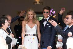 EM-Star Mario Gomez heiratete am 22. Juli 2016 seine Verlobte Carina Wanzung. Zur standesamtlichen Trauung in…