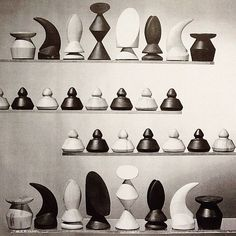dark-archive: Chess by Max Ernst, American (born Germany), 1891 - 1976Designed 1944