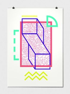 16 poster by Marco Oggian, via Behance