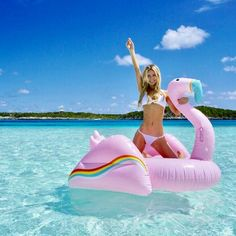 Festival Flamingo Pool Float
