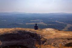 Tranquility and the mountain  #landscape #photography #instagram #mountains #meditation #meditationspot #travel #india #agumbe #karnataka #worlderlust #lonelyplanet