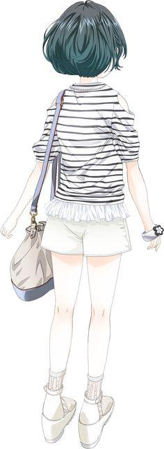 Musubu BACK Anime Guys, Manga Anime, Anime Art, Bts Young Forever, Girl Couple, Kawaii Anime Girl, Anime Couples, Art Girl, Fashion Art
