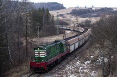 770 613 working a coal train bound for Prievidza