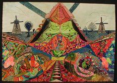 Kervezee, Jan; Psychedelisch landschap, SH10450