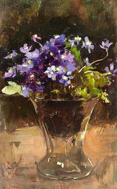 """bofransson:  """" Esther Kjerner 1873-1952. Flower Still Life  """""""