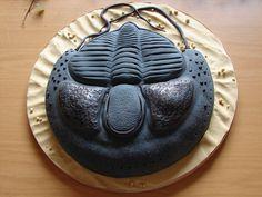 trilobite fossil cake