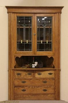 oak kitchen cabinets with glass doors 1000 images about stained glass cabinet doors on 23861
