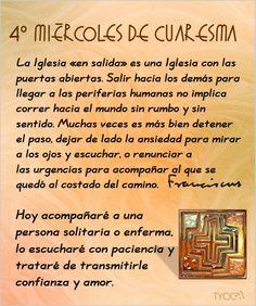 MIS PROPÓSITOS : PROPÓSITO 4° MIÉRCOLES DE CUARESMA