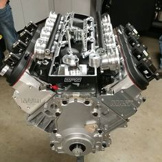 Mast Motorsports handbuilt 427 with Harrop Performance intake...