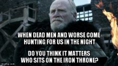 Game of Thrones: As a non-book reader, this is my speculation of what the most important quote in the show has been so far---well said sir