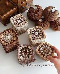 61 Best Ideas For Crochet Patterns For Beginners Blanket Cats Crochet - Diy Crafts - hadido Crochet Cat Pattern, Granny Square Crochet Pattern, Crochet Squares, Crochet Granny, Crochet Blanket Patterns, Crochet Motif, Crochet Flowers, Knitting Patterns, Crochet Sunflower