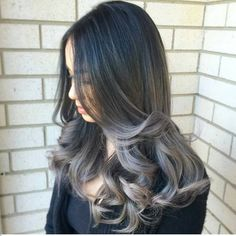 Seamless + Smoky ... by @loveisinthehair_byjanet #behindthechair #ombrehair #ombrebalayage