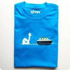 Mr Iceberg & Titanic T-shirt