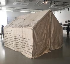 With over 150 participating artists, @Documenta14 is now on view in its hometown Kassel, Germany. Curator Adam Szymczyk examines social, political and economic links between the countries, and a potential for a broader understanding of geo-political relations in the modern world.  Shown here is work by #emilyjacir