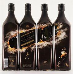 Johnnie Walker `Double Black` Blended Scotch Whisky 4X1LTR Scotland | eBay