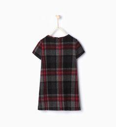 изображение 2 из Платье в клетку от Zara