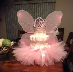 3 Tier Diaper Princess cake | Etsy