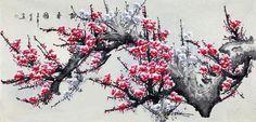 Blooming Plum Brings Spring《报春图》