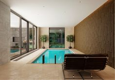 indoor-swimming-pool_trimless downlights