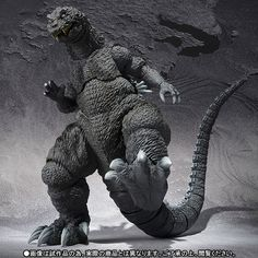 ace toy ko godzilla godzilla s.monsterarts [action figure] by bandai - item is new and unopened in original packaging. Godzilla Figures, Godzilla Toys, All Godzilla Monsters, Scary Monsters, Rampage Movie, Sh Monsterarts, Monster Pictures, One Punch Man Manga, World Of Darkness