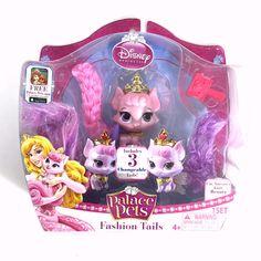 Disney Princess Palace Pets Aurora Kitty Beauty Fashion Tails 3 Changeable Tails Disney Princess Palace Pets Palace Pets Princess Palace Pets