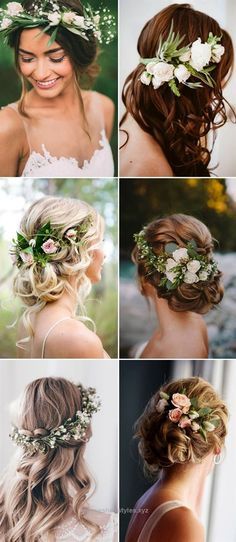 Insane amazing wedding hairstyles with green flowers  The post  amazing wedding hairstyles with green flowers…  appeared first on  Emme's Hairstyles .