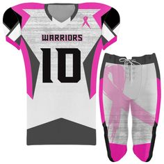 f4bd5ceb02c Elite Concave Football Uniform. Football UniformsSports UniformsUniform  DesignCancer AwarenessBreast ...