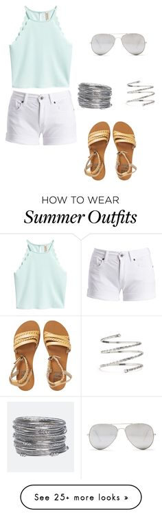 """Summer Outfit #1"" by darbysong on Polyvore featuring Sunny Rebel, Avenue, Barbour International, Billabong and Venus"