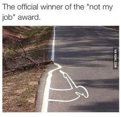 Not my job
