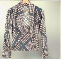 Bulbo: Llena eres en Gràcia Blazer, Jackets, Women, Fashion, Sewing Lessons, Tents, Hipster Stuff, Down Jackets, Moda