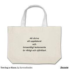 Tote bag or Kasse.