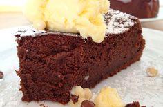 ¡Torta de chocolate de sólo 3 ingredientes!