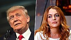 Trump on Lohan in 2004: Troubled women are 'best in bed'