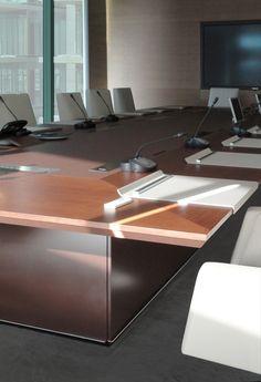 Rectangular meeting table PARK AVENUE | Rectangular meeting table - JOSE MARTINEZ MEDINA
