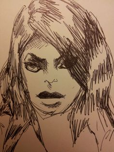 Random girl who turned out to look a bit like Kirstie Alley