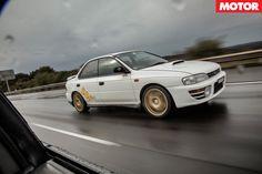 Subaru WRX Celebration: 1st Generation