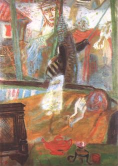 Imre Ámos, Painter of the Apocalypse Jewish Art, Writing Poetry, Artist Names, Art Boards, 21st Century, Apocalypse, Painting & Drawing, Sculpture Art, The Dreamers