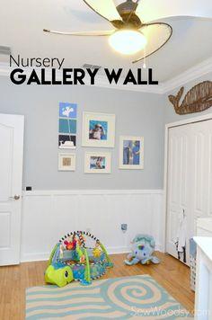 Nursery Gallery Wall