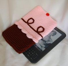 Cupcake Kindle Case by stayhomecupcake on Etsy, $15.00