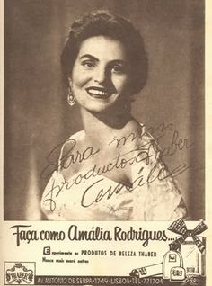 Amália Rodrigues Vintage Advertisements, Vintage Ads, Vintage Posters, Portuguese Culture, Closed Eyes, Travel Posters, The Past, Advertising, Singer