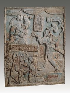 Presentation of Captives to a Maya Ruler. Mexico, Usumacinta River Valley, Maya culture Late Classic period (A. Mayan History, Ancient History, Art History, Maya Civilization, South American Art, Mesoamerican, Ancient Artifacts, Ancient Civilizations, Archaeology